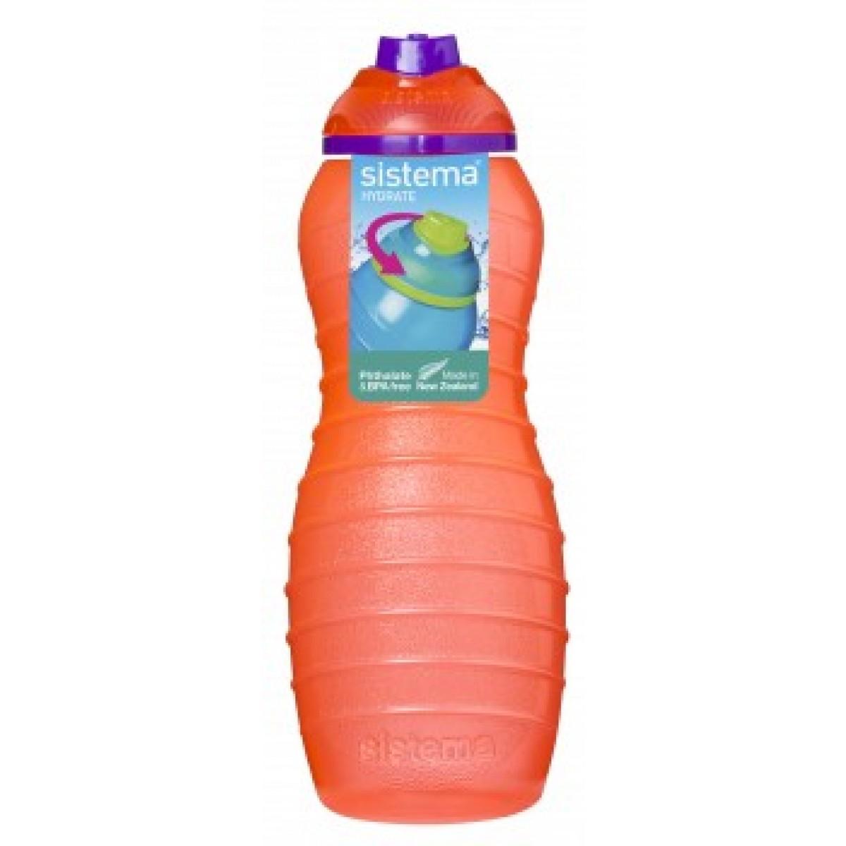 SISTEMA Davina drikkeflaske melon 700 ml.