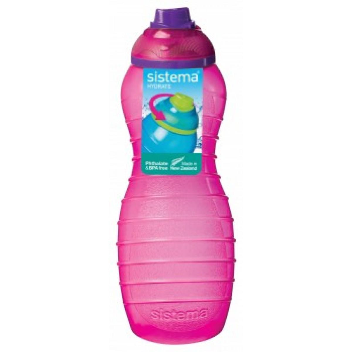 SISTEMA Davina drikkeflaske lyserød 700 ml.