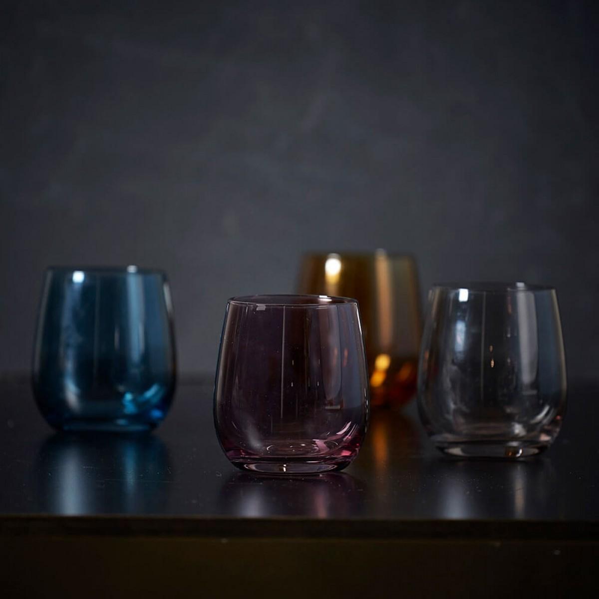 DACORE Indfarvet vandglas 4 stk