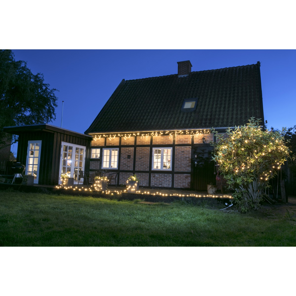 PRO CONNECT istapkæde 0,4 x 2,5 med 50 LED ekstra