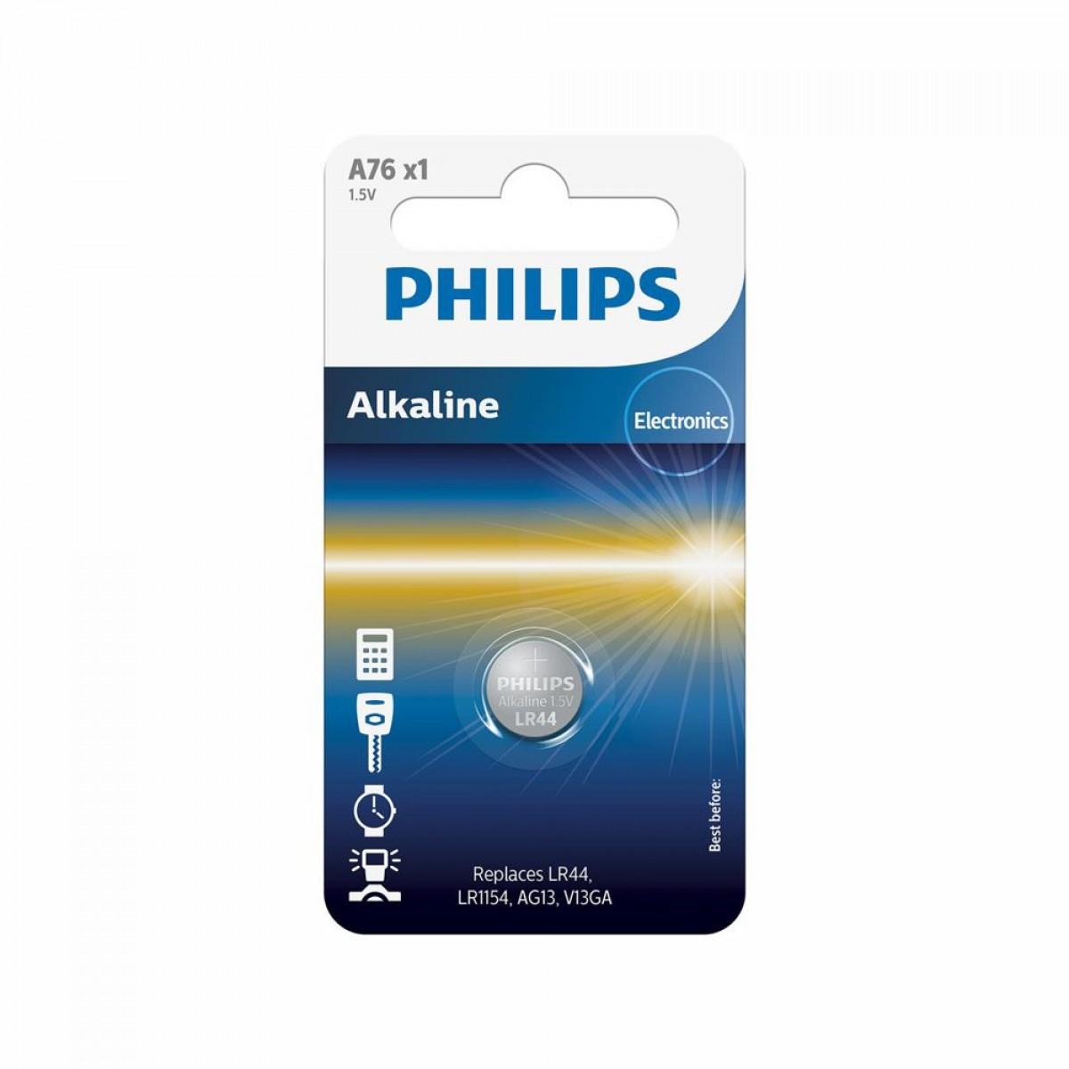 PHILIPS Batteri Lr44/ag13