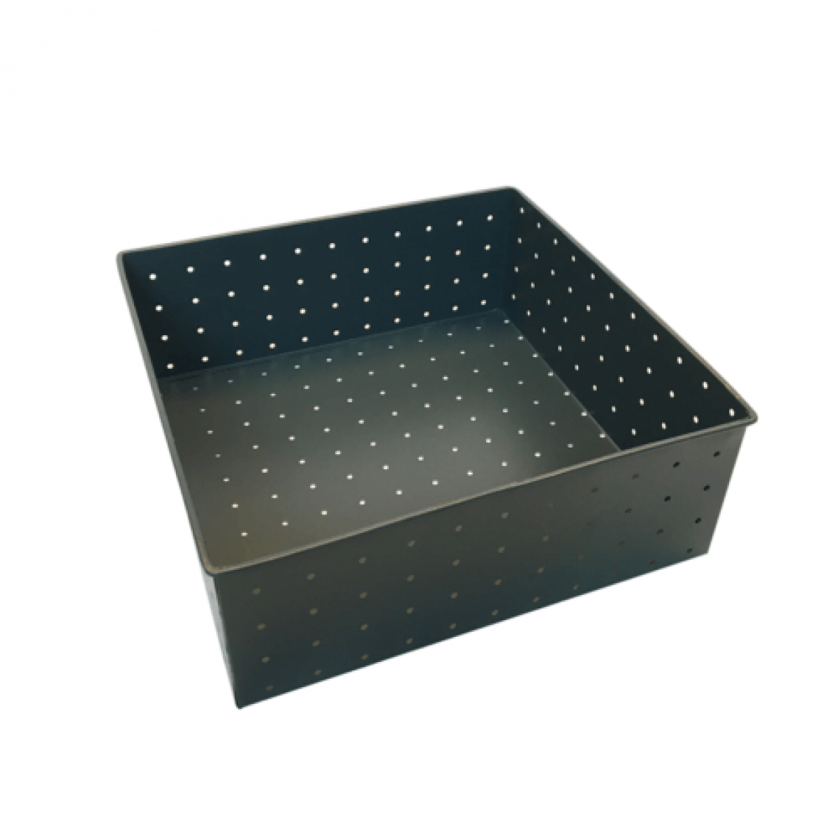 ALFREDO Opbevaringsboks mørkgrøn 21x21 cm