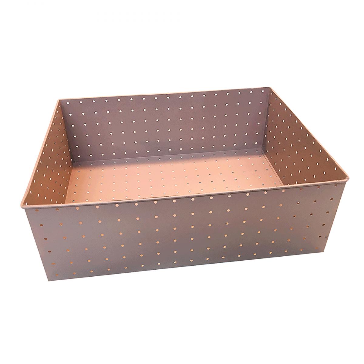 ALFREDO Opbevaringsboks rosa 32x24 cm