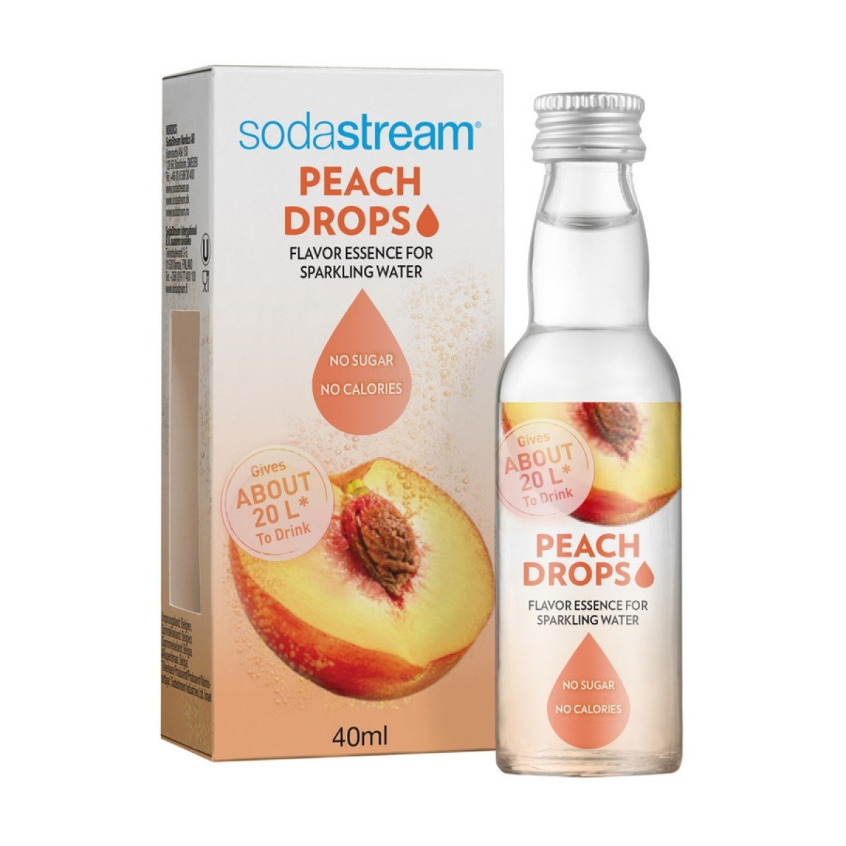SODASTREAM Fruit drops peach 40 ml