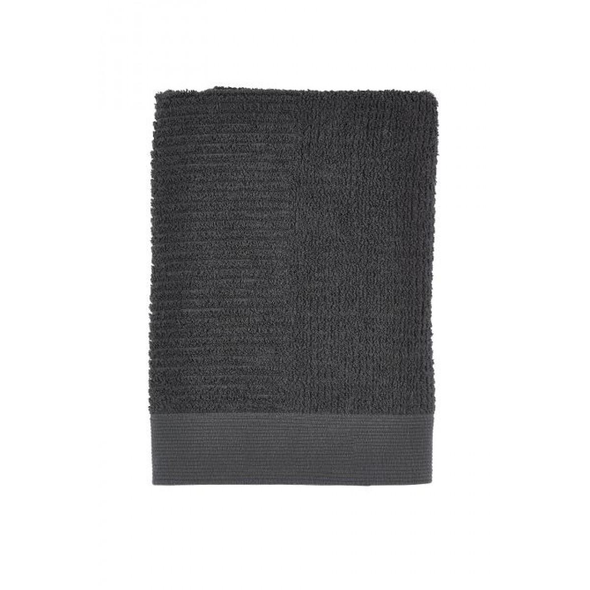 ZONE Classic håndklæde 70 x 140 cm. antracit grå