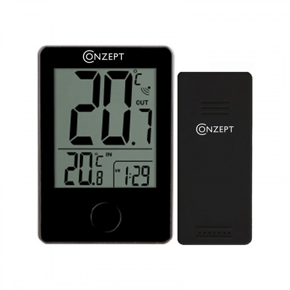 CONZEPT Trådløst termometer inde/ude