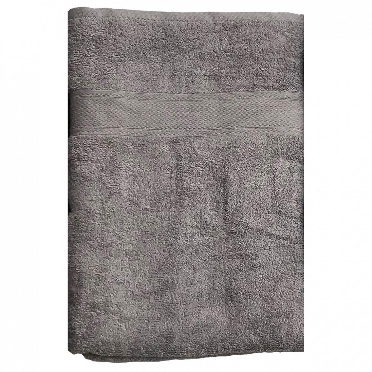 CONZEPT Håndklæde 90 x 180 cm grå