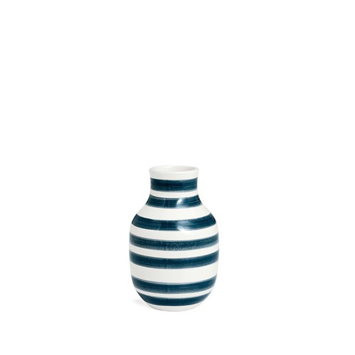 KÄHLER Omaggio vase granit grå 12,5 cm.