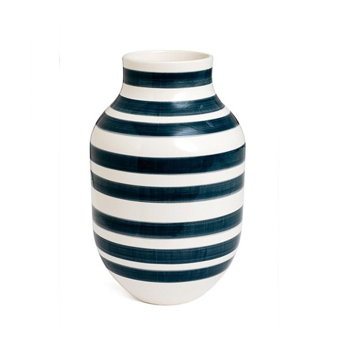 KÄHLER Omaggio vase granit grå 30,5 cm.