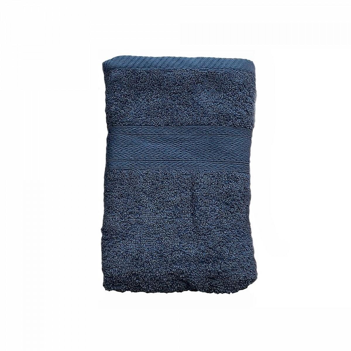 CONZEPT Håndklæde 70 x 140 cm blå