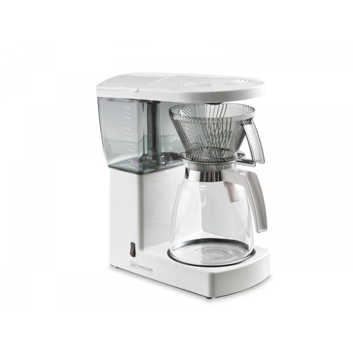 MELITTA Kaffemaskine excellent grande 12 kopper hvid