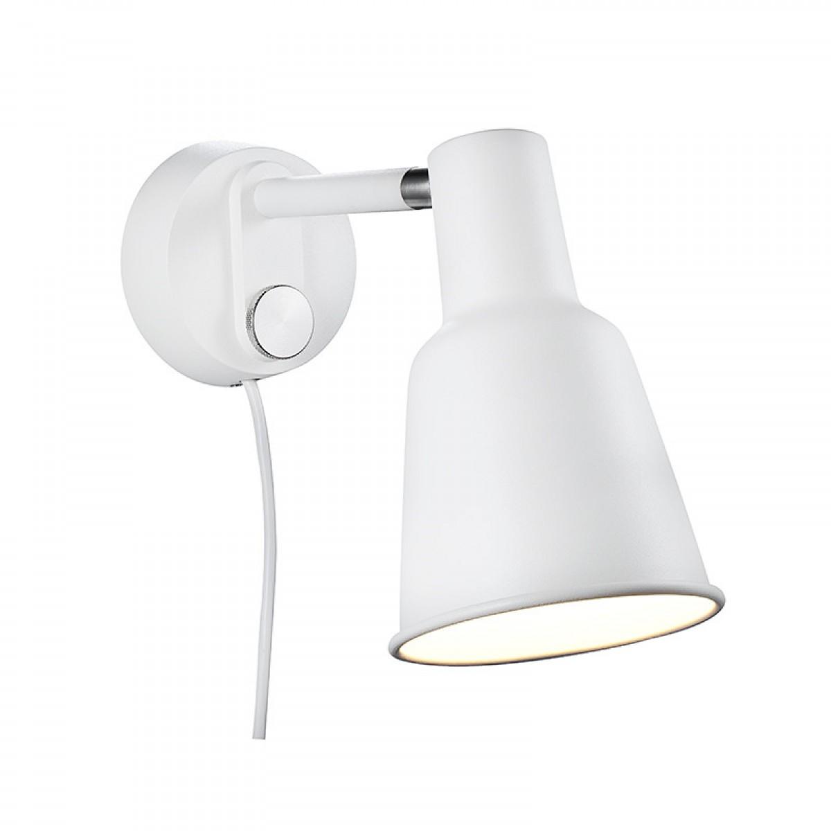 NORDLUX Patton væglampe hvid