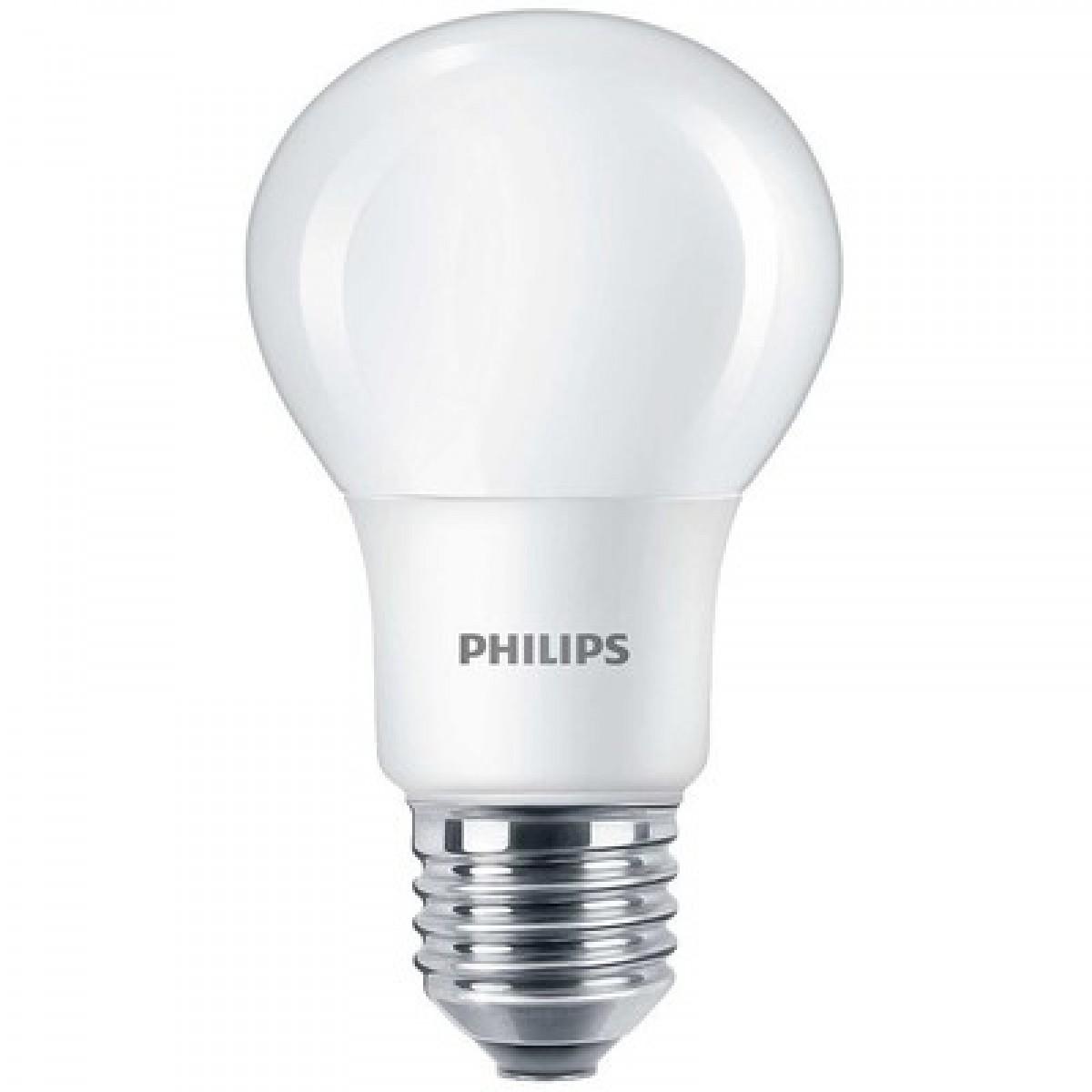 PHILIPS LED pærer standard mat 8W (60W)