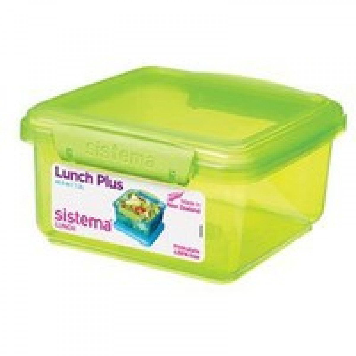 SISTEMA Madkasse lunch plus grøn 1,2 ltr.