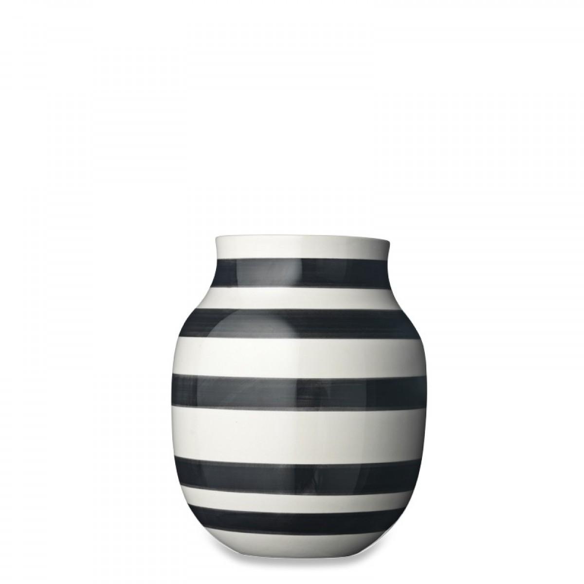 KÄHLER Omaggio vase sort 20 cm.