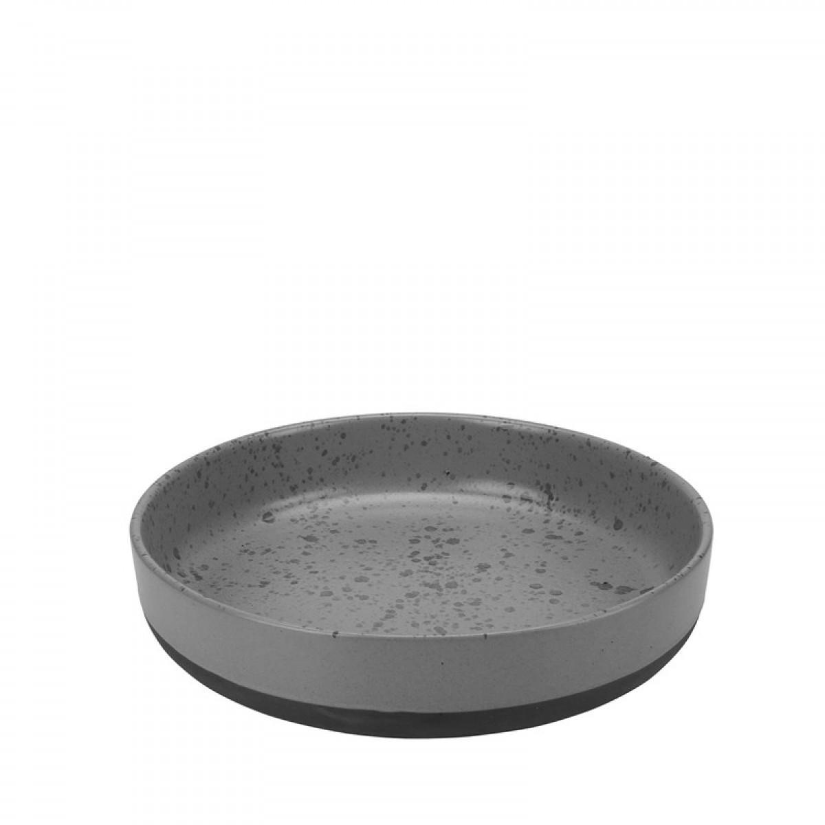 AIDA Raw serveringsskål grå plettet 30cm