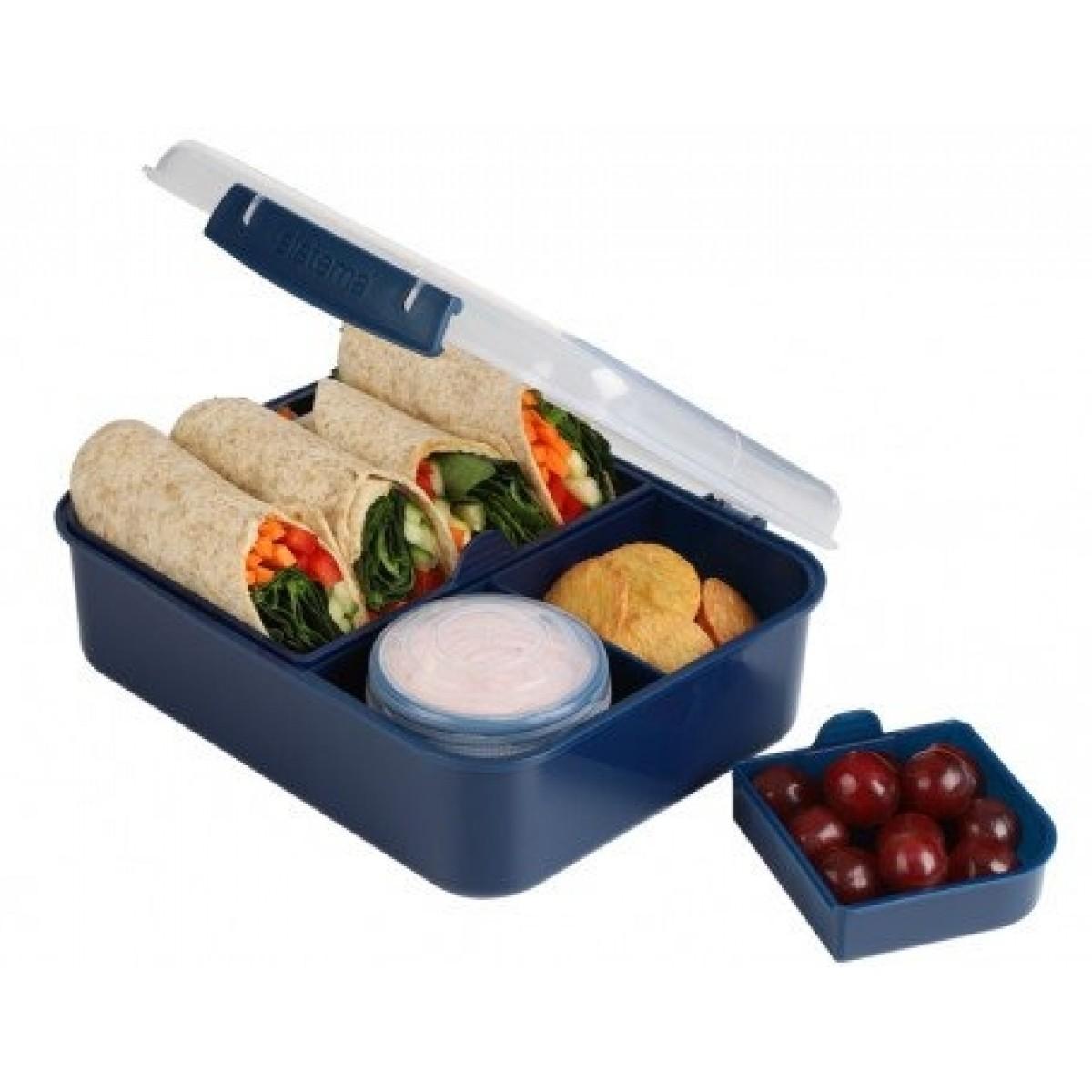 SISTEMA Madkasse Bento lunch renew 1,65 ltr - blå