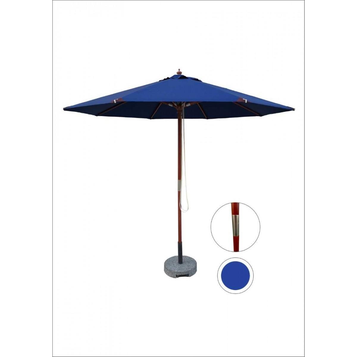 HOFFMANN Parasol nice Ø 3 - blå