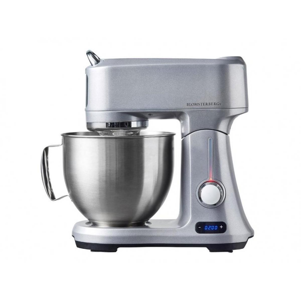 BLOMSTERBERGS Køkkenmaskine sølv
