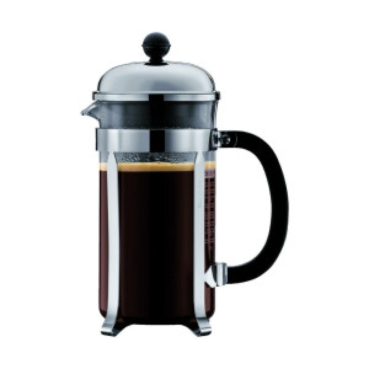 BODUM Kaffebrygger chambord krom 8 kops