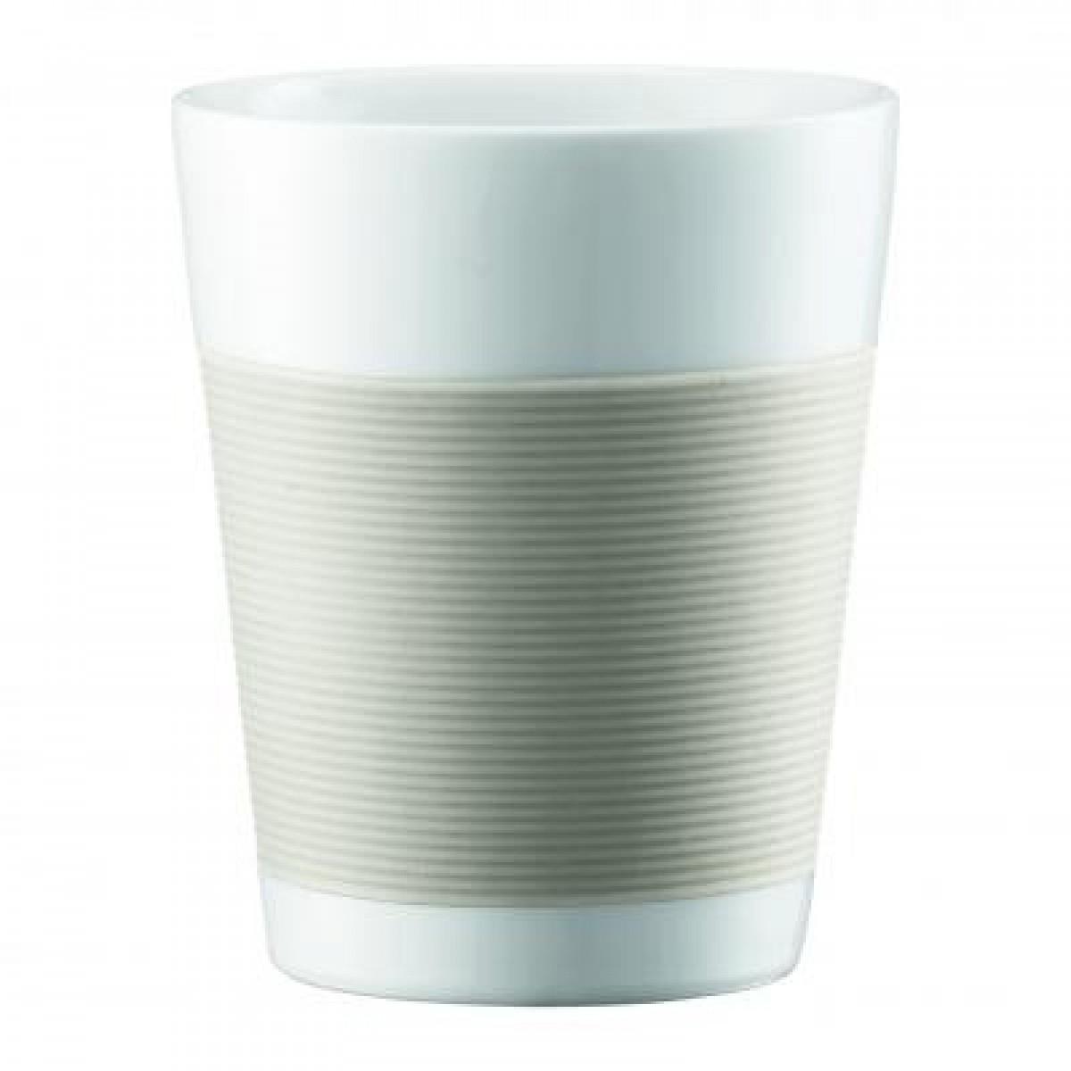 BODUM Canteen porcelænskrus hvid 2 stk