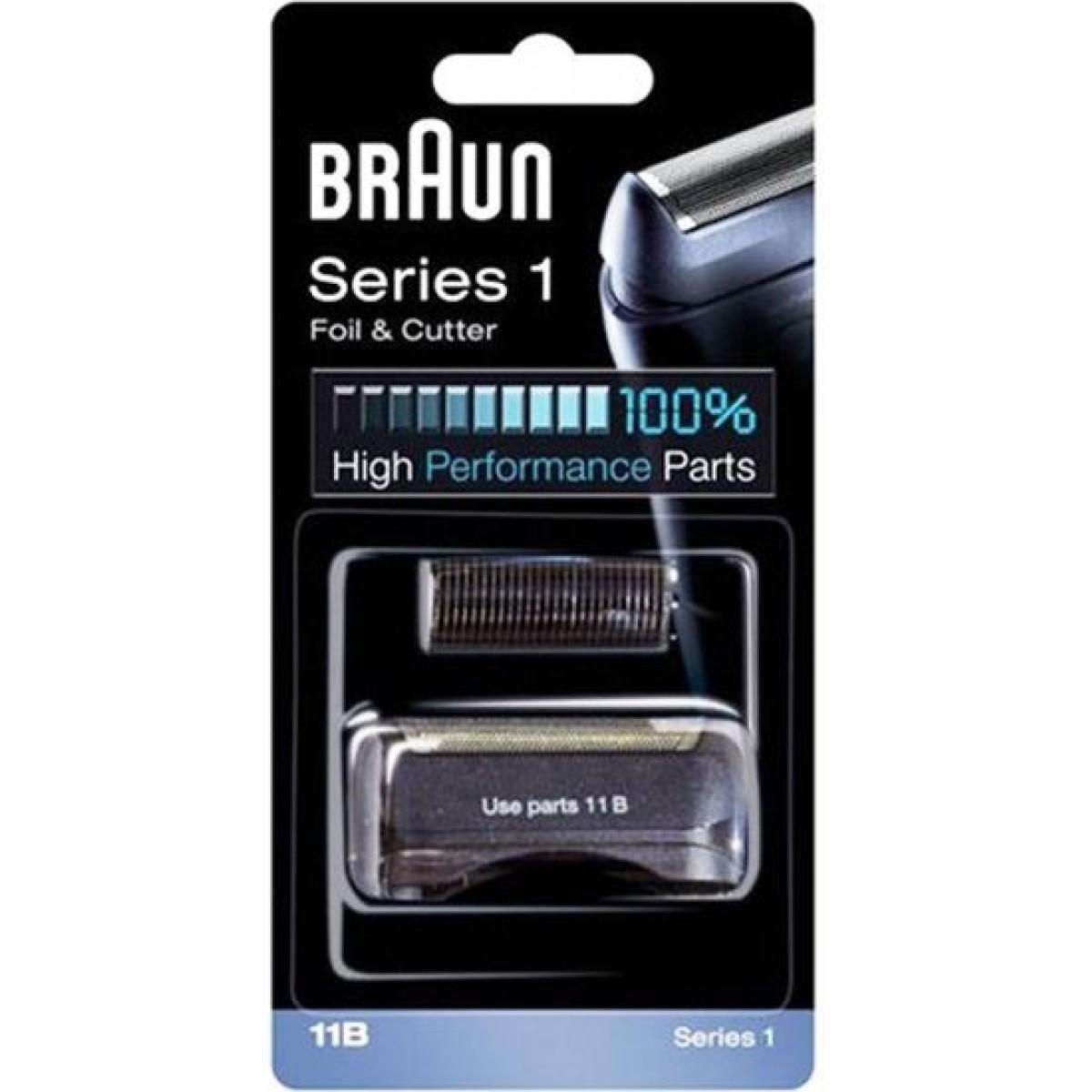 BRAUN Skær til barbermaskine 11B - sort