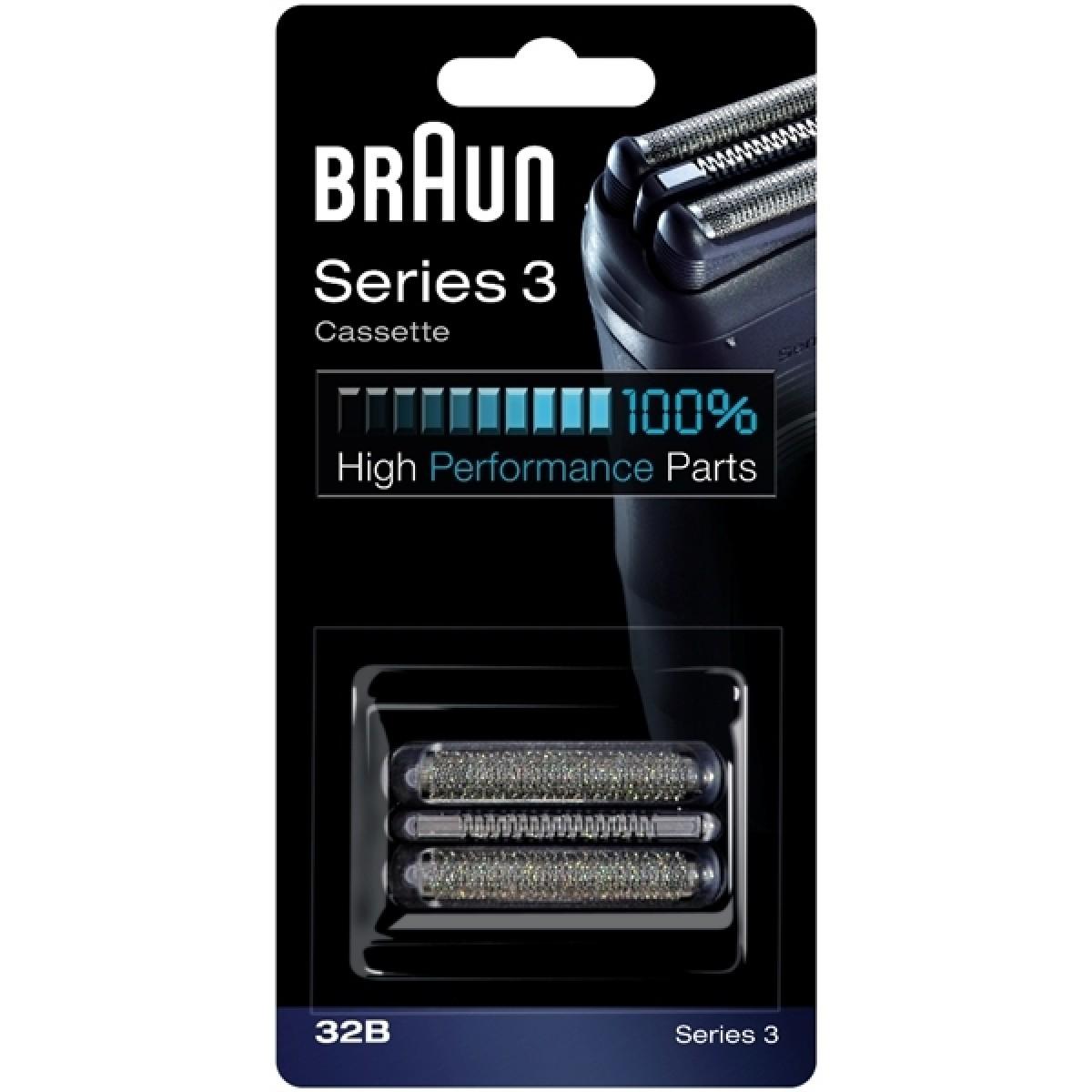 BRAUN Skær til barbermaskine 32B - sort