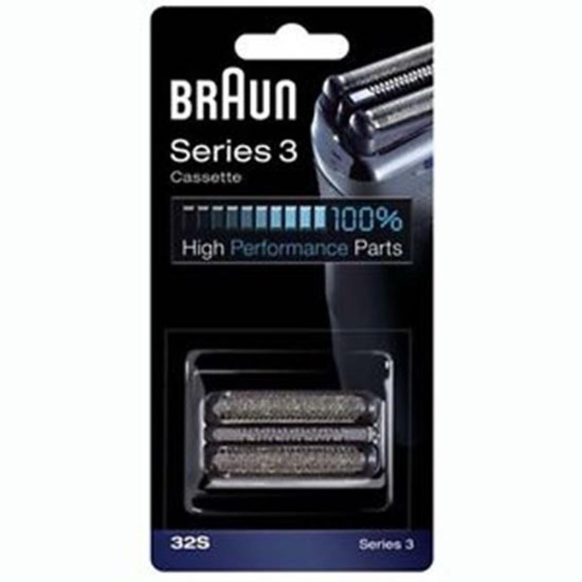 BRAUN Skær til barbermaskine 32S - sølv