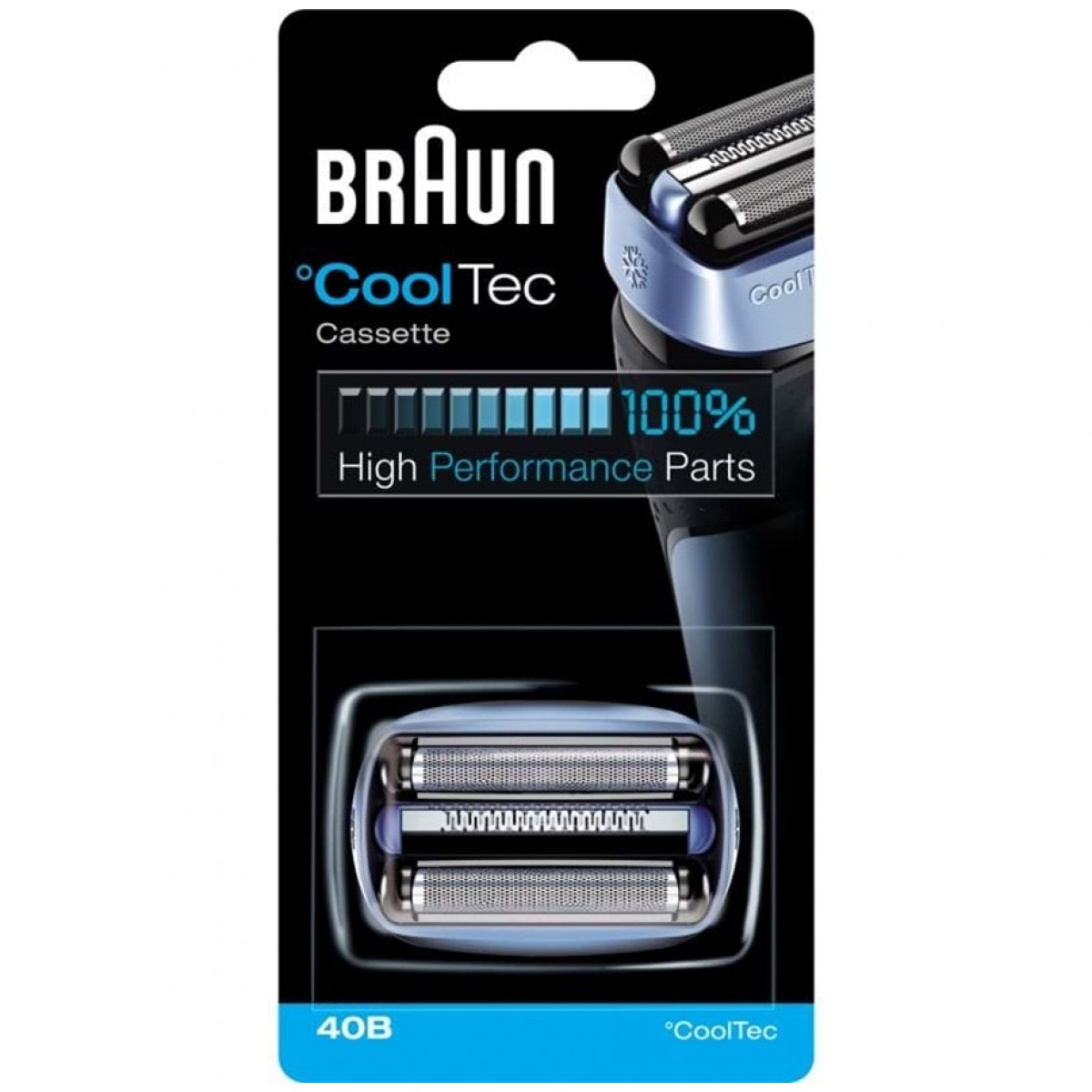 BRAUN Skær til barbermaskine 40B - blå