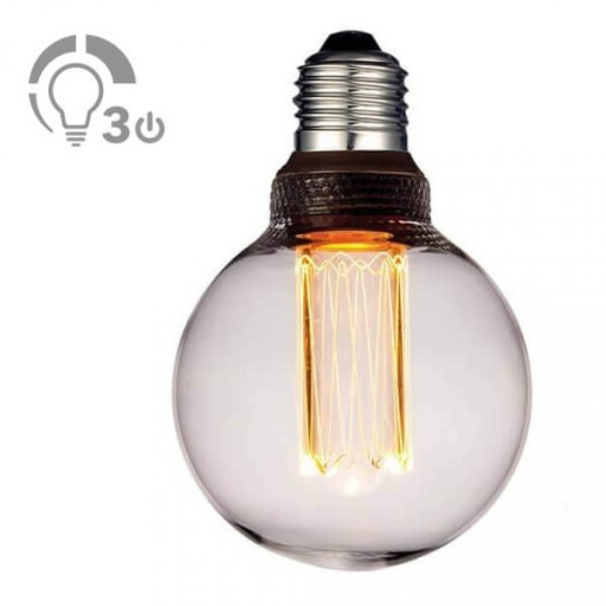 COLORS Dim LED mini globe Ø8 cm