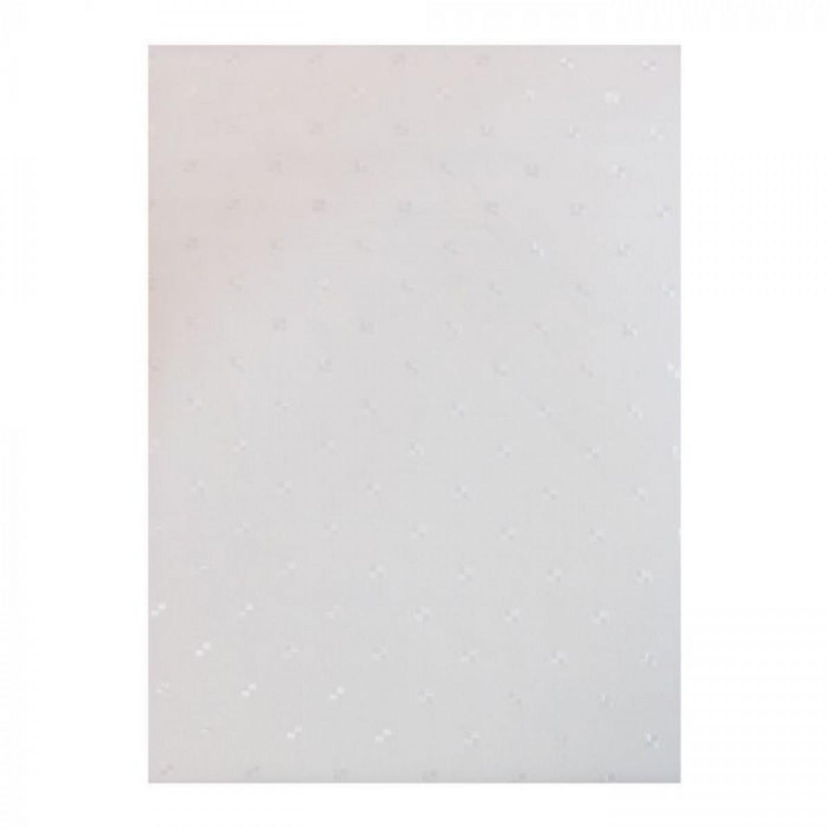 CONZEPT Badeforhæng hvid 180x220 cm