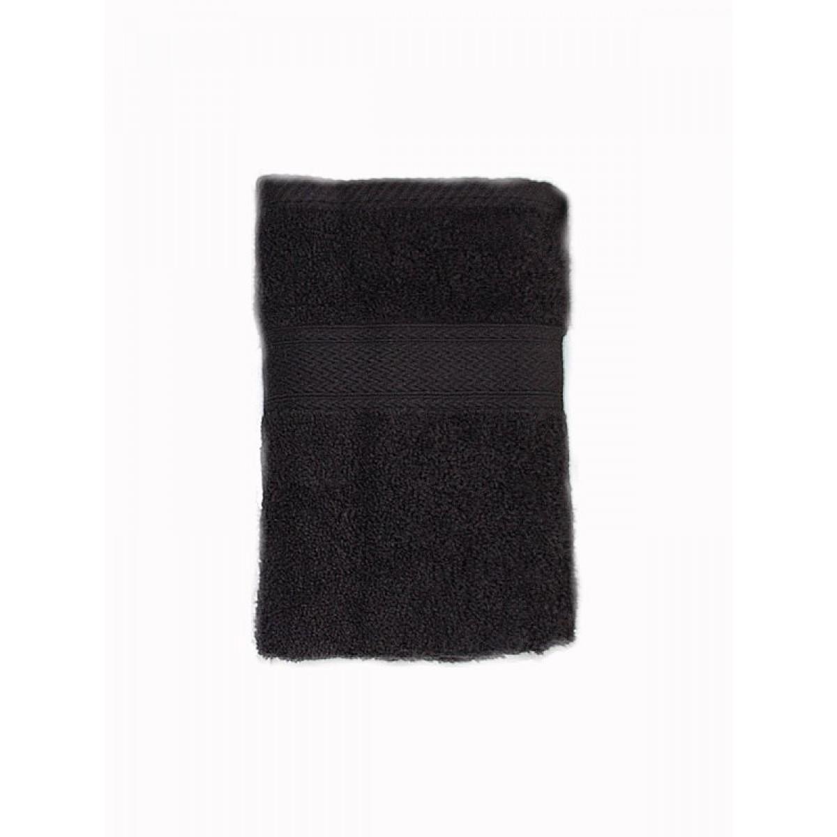 CONZEPT Håndklæde 90 x 180 cm. sort