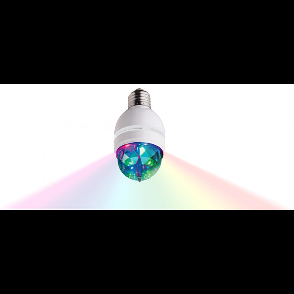 Roterende discopærer LED med farvelys