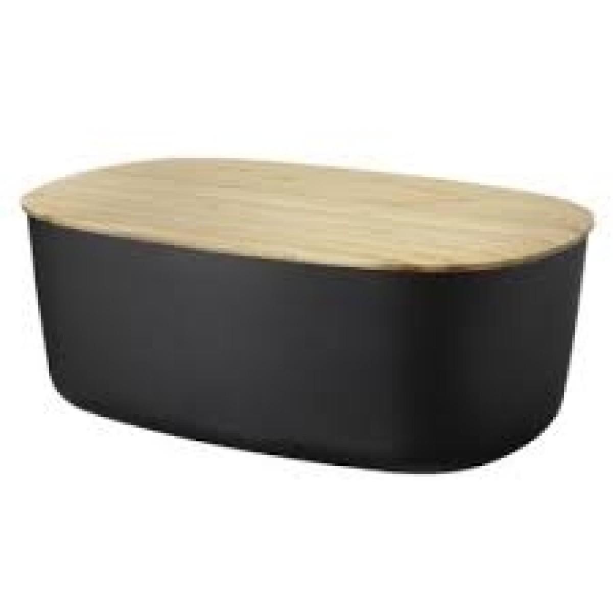 STELTON RIG-TIG Brødkasse box-it - sort