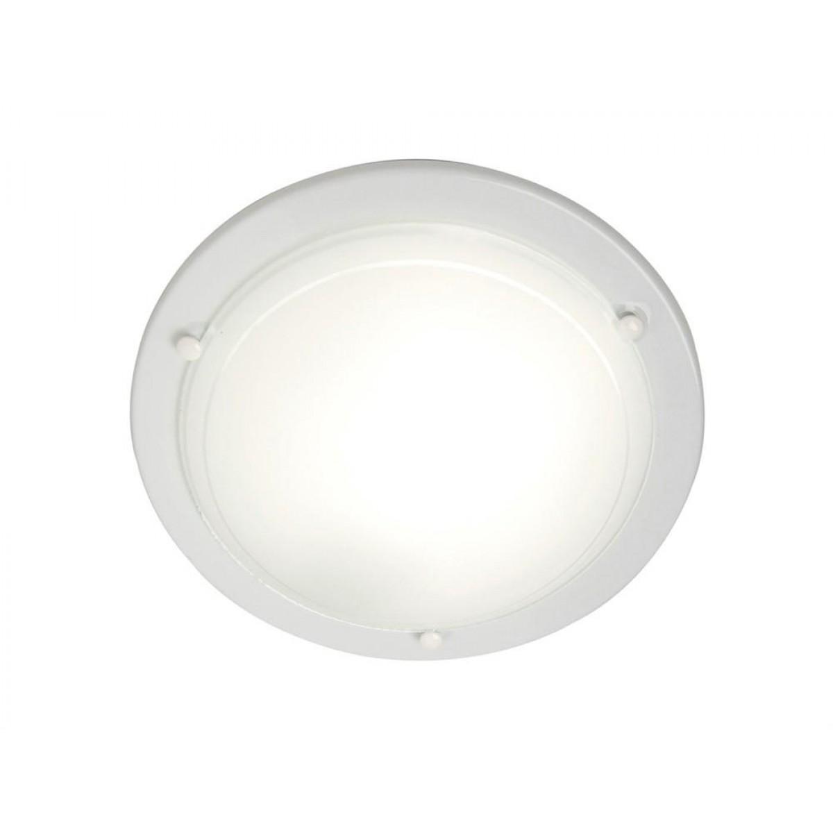 NORDLUX Spinner plafond hvid / glas