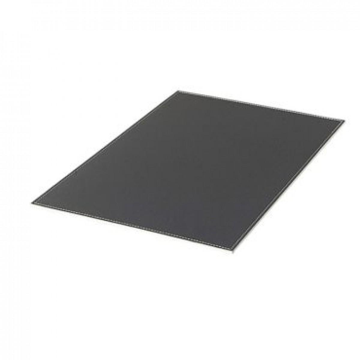 DACORE Dækkeserviet firkantet grå læderlook