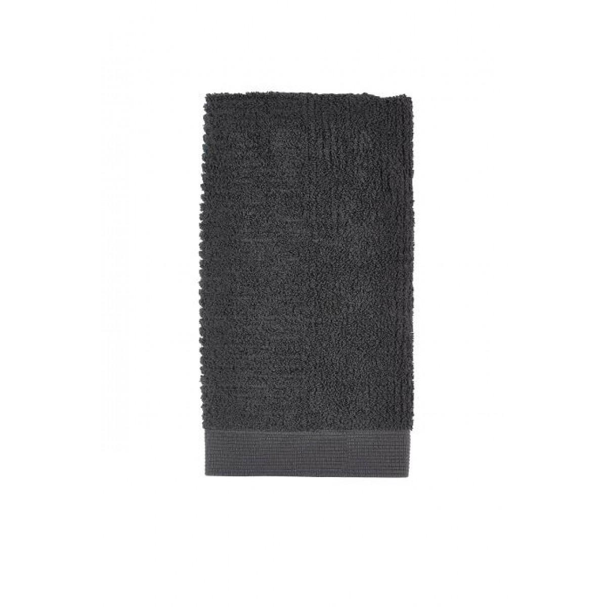 ZONE Classic håndklæde 50 x 100 cm. antracit grå
