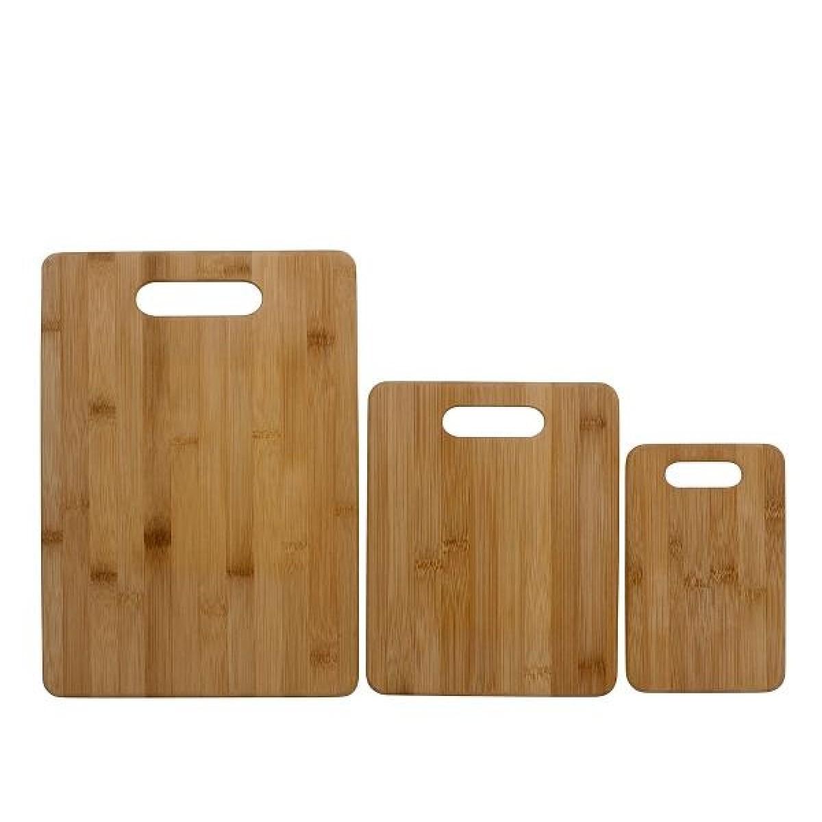 FUNKTION Skærebræt sæt 3 stk bambus