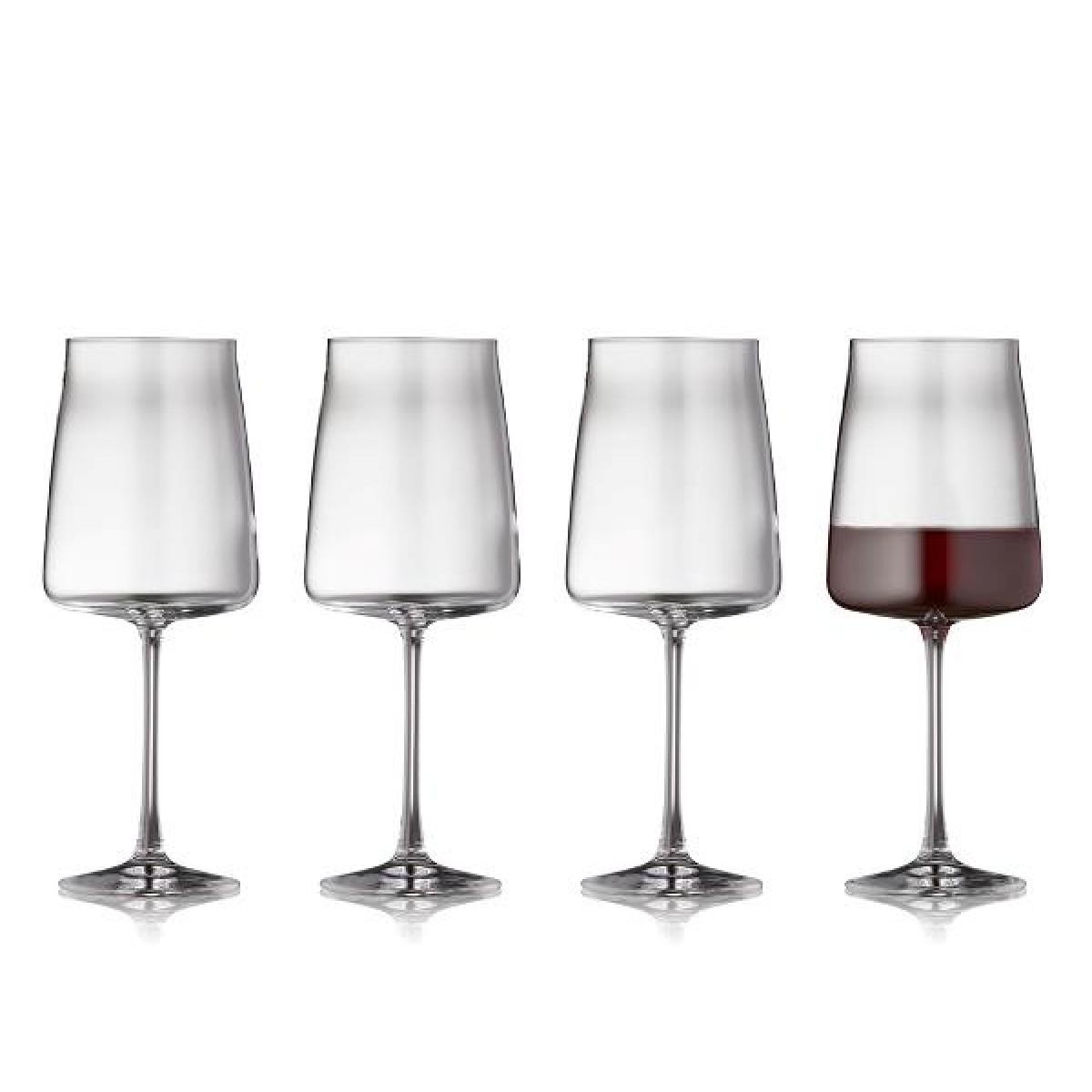 LYNGBY GLAS Zero rødvinsglas 54 cl 4 stk