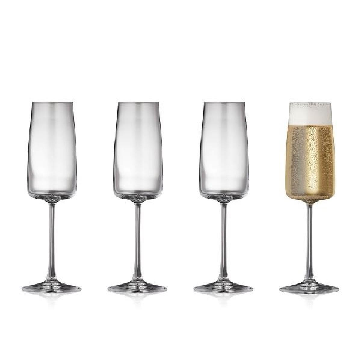 LYNGBY GLAS Zero champagne 30 cl 4 stk