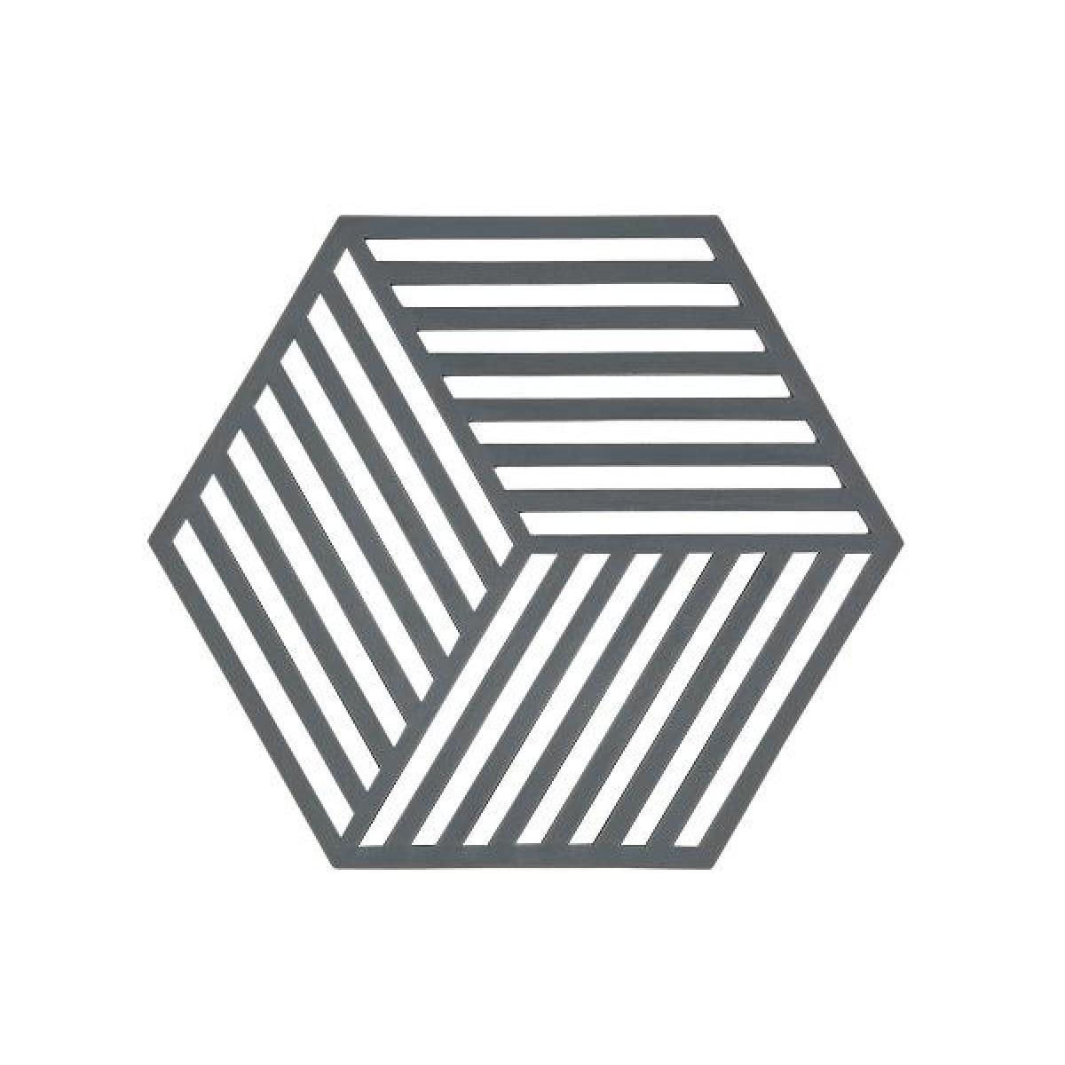 ZONE Hexagon bordskåner cool grey