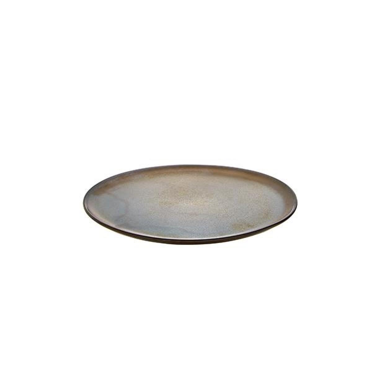 AIDA Raw frokosttallerken 23 cm - metallic brown