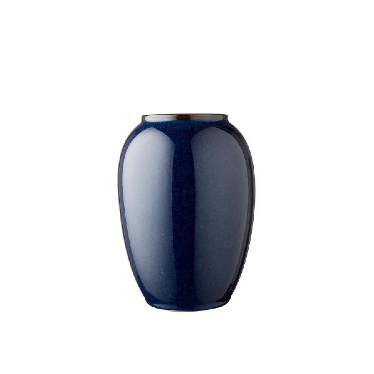 BITZ Vase 20 cm blå