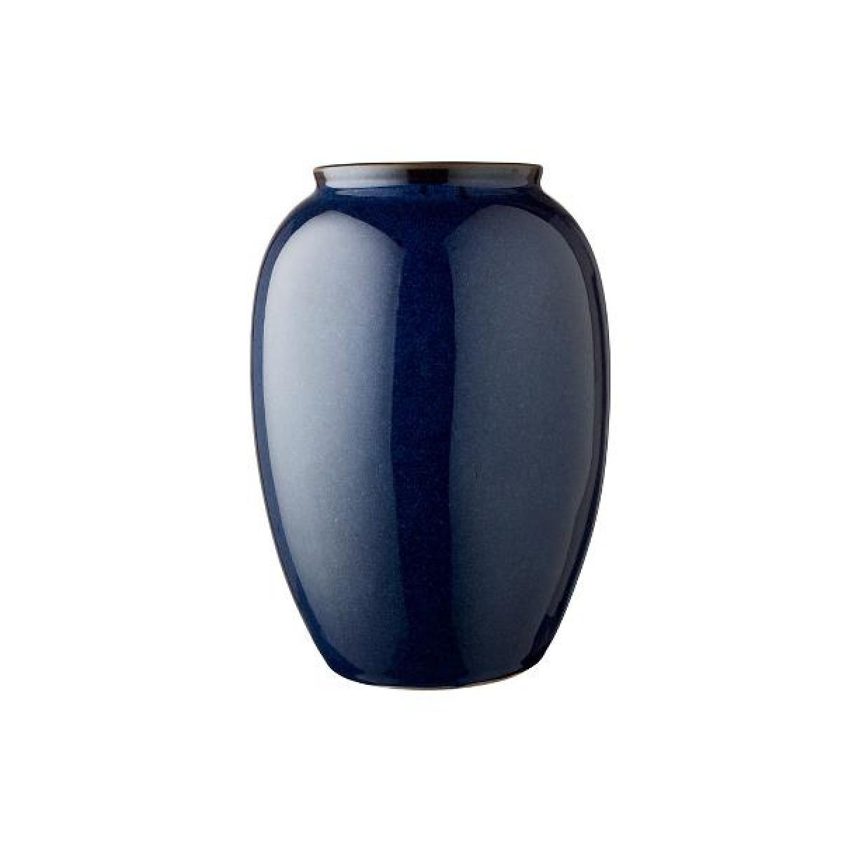 BITZ Vase 25 cm blå