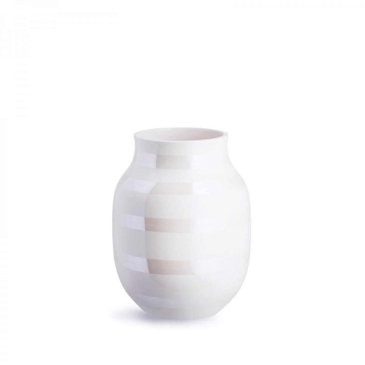 KÄHLER Omaggio vase perlemor 20 cm.