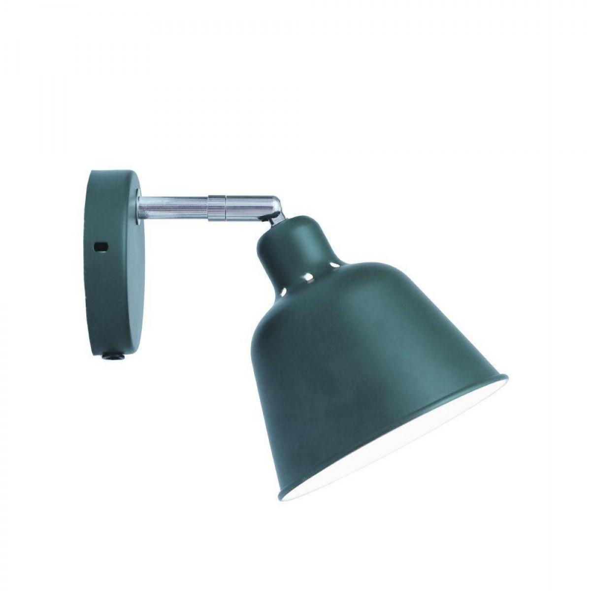 HALO DESIGN Væglampe carpenter Ø15 cm - grøn