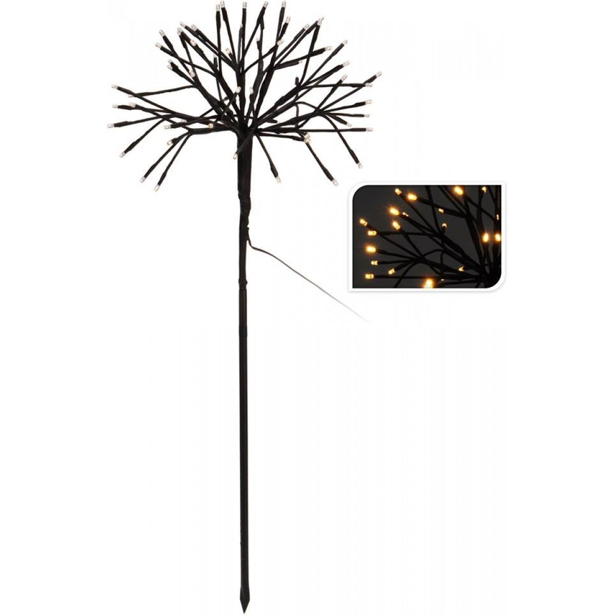 CONZEPT lystræ halvkugle 64 varmhvide LED