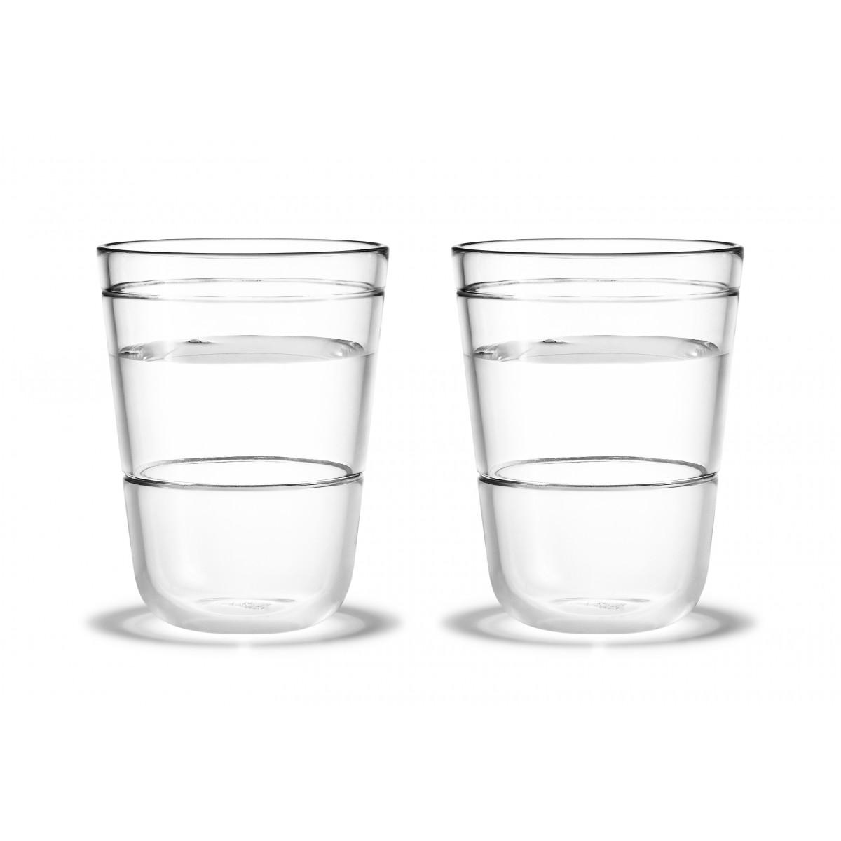 HOLMEGAARD Scala vandglas 30 cl - 2 stk