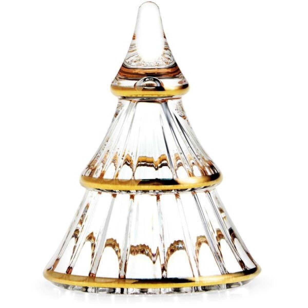 HOLMEGAARD Fairytales juletræ klar med guld lille