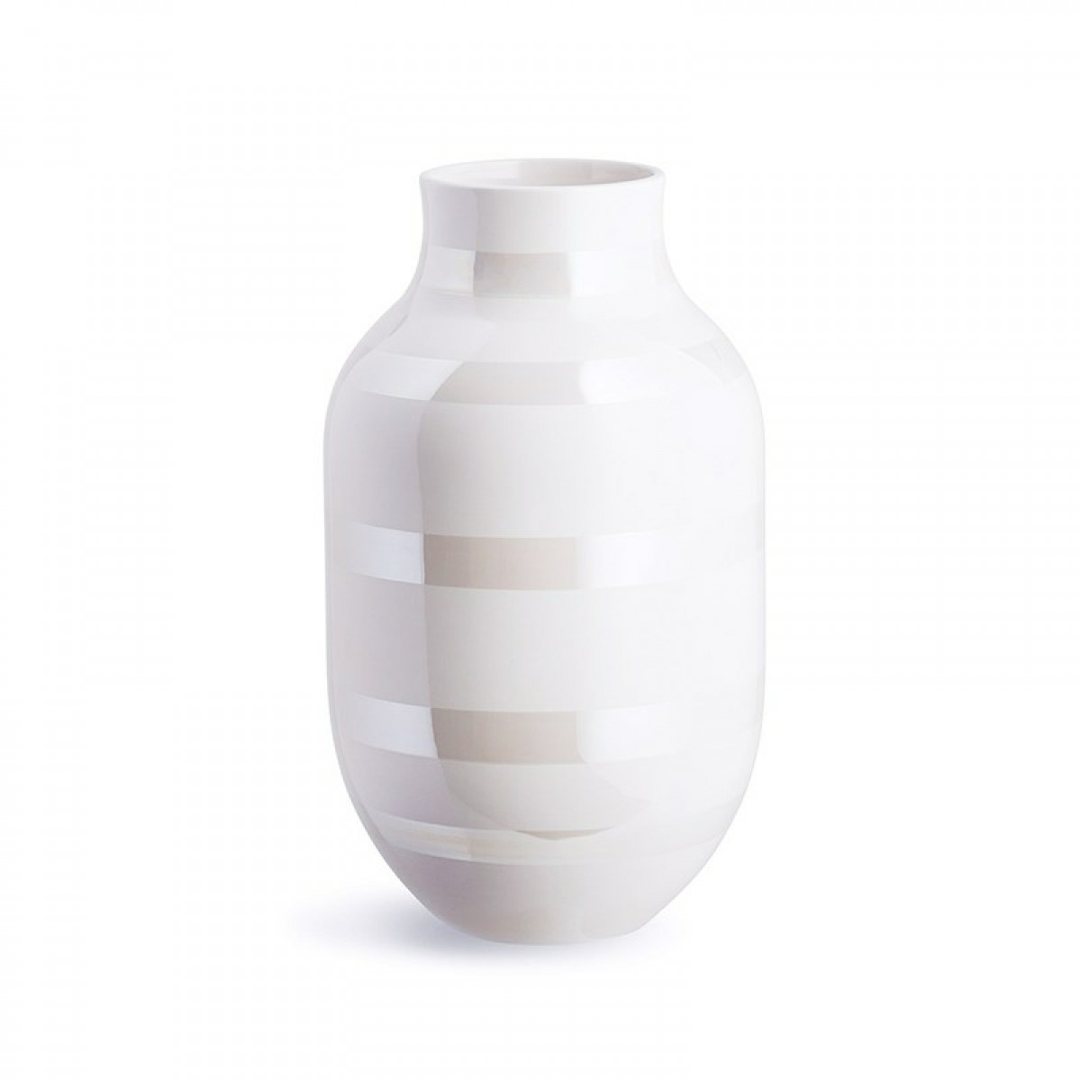 KÄHLER Omaggio vase perlemor 30,5 cm.